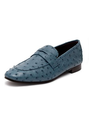 Bougeotte Flaneur Ostrich Penny Loafers