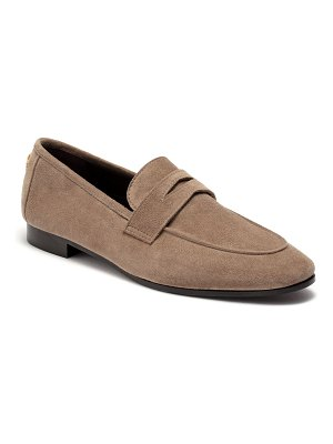 Bougeotte Park Avenue Suede Loafers