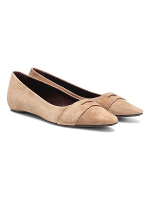 Bougeotte Exclusive to Mytheresa – suede ballet flats
