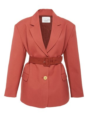Bouguessa two-tone fitted blazer