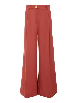 Bouguessa two-tone high waisted wide leg pants