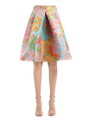 Boutique Moschino Floral jacquard skirt