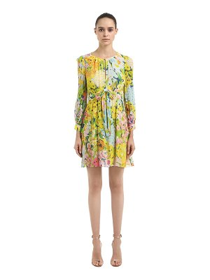 Boutique Moschino Floral printed crepe dress