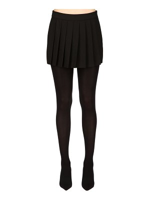 Boutique Moschino Pleated cady skort