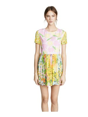 Boutique Moschino short sleeve floral dress