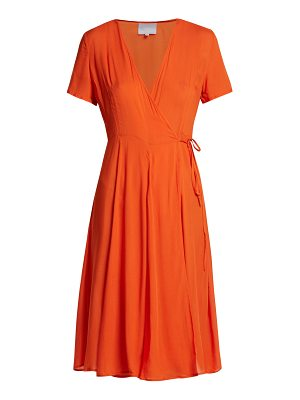 Bower Casablanca cotton wrap dress