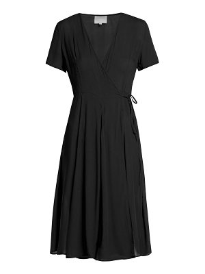 Bower Casablancas cotton wrap dress