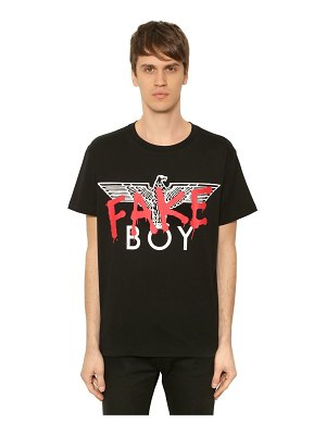 BOY London Boy fake printed jersey t-shirt
