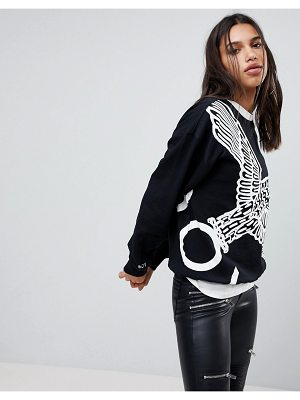 BOY London boy london wing span sweatshirt