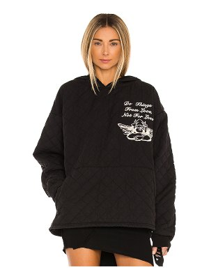 Boys Lie for love quilt hoodie
