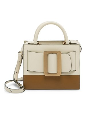 Boyy bobby two-tone leather tote