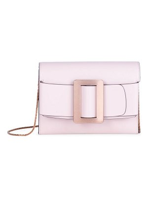 Boyy buckle leather crossbody bag