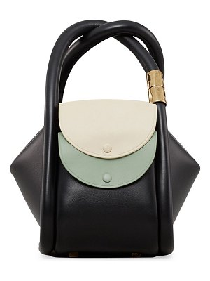 Boyy wonton colorblock leather tote