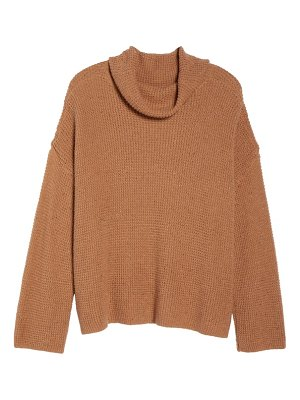 BP. chunky thermal cowl neck sweater