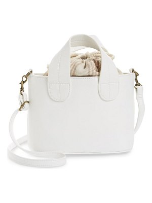 BP. mini leather crossbody tote