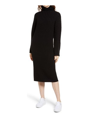 BP. ribbed long sleeve sweater dress