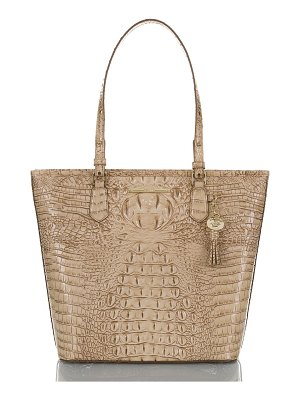 Brahmin asher croc embossed leather tote