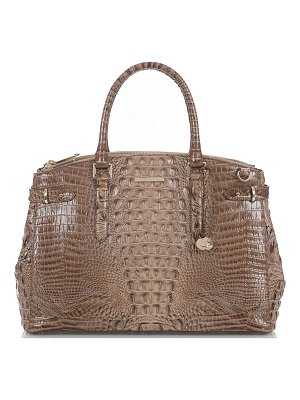 Brahmin audra croc embossed leather tote