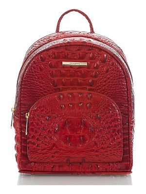 Brahmin mini dartmouth leather backpack
