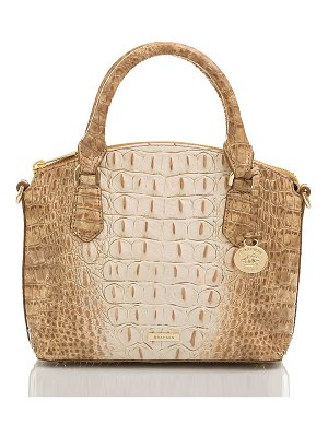 Brahmin duxie croc embossed leather crossbody bag