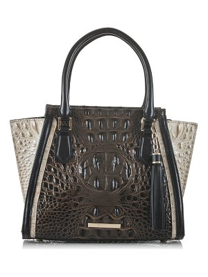 Brahmin mini priscilla leather satchel