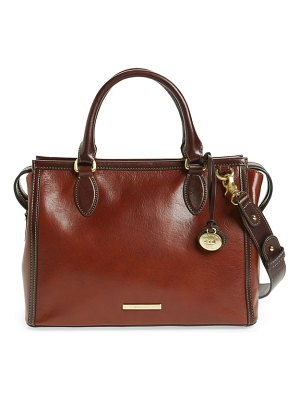 Brahmin schooner leather satchel