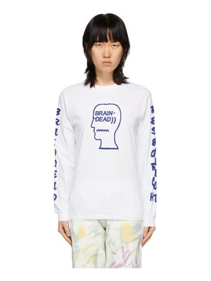 Brain Dead vehicle long sleeve t-shirt