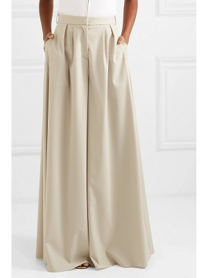 Brandon Maxwell wool-blend wide-leg pants