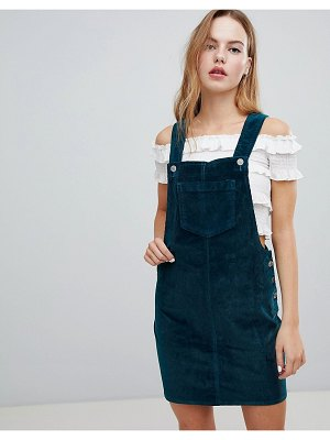 Brave Soul Alexa Overall Dress in Cord