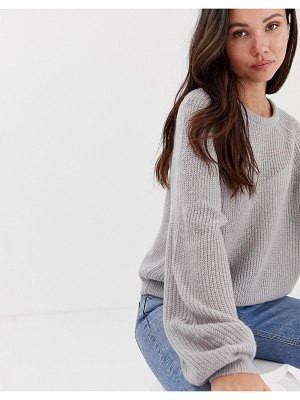 Brave Soul harris sweater with balloon sleeves