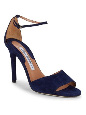 Brian Atwood Ankle-Strap Suede Sandals
