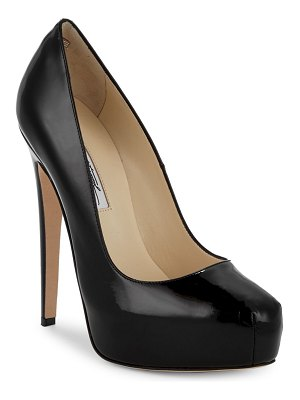 Brian Atwood Patent Leather Stiletto Pumps