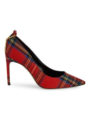 Brian Atwood Voyage Plaid Pumps