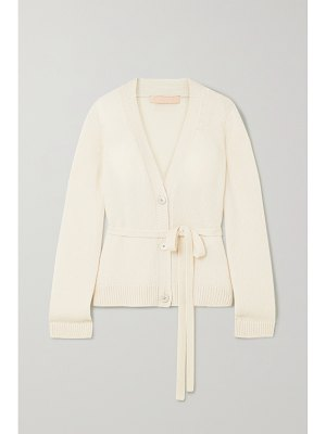 Brock Collection belted cashmere cardigan