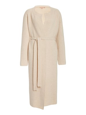 Brock Collection belted wool-cashmere cardigan