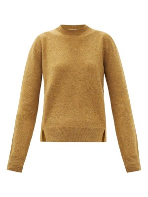 Brock Collection blouson-sleeve cashmere sweater