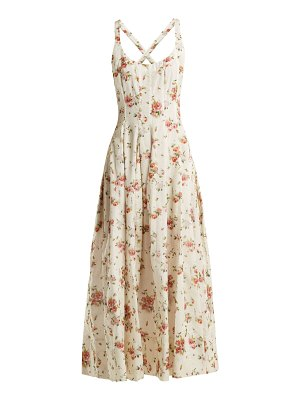 Brock Collection Daphne floral-print silk-charmeuse dress