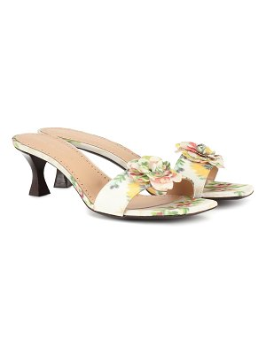 Brock Collection exclusive to mytheresa – floral sandals