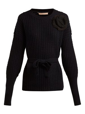 Brock Collection Kaori cashmere and wool-blend sweater