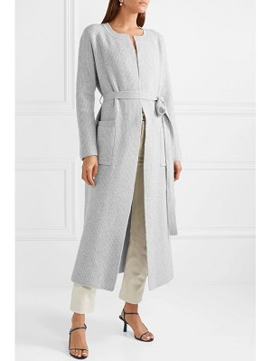 Brock Collection koffi ribbed wool and cashmere-blend coat