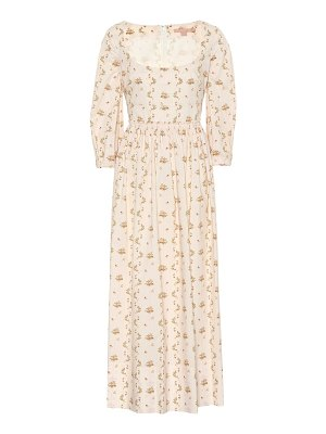 Brock Collection Ondina printed cotton dress