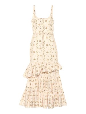 Brock Collection Onilde floral cotton maxi dress