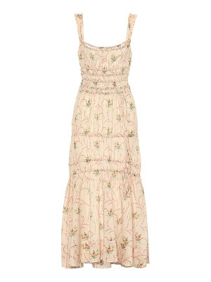 Brock Collection prisca printed cotton dress