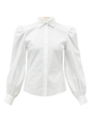 Brock Collection puff-sleeved cotton-blend blouse