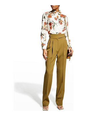 Brock Collection Thelma Floral-Print Blouse