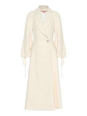 Brock Collection wool and linen-blend coat