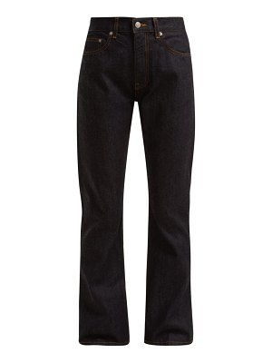 Brock Collection Wright high-waist straight-leg jeans