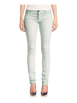 Brockenbow Alveoles Rush Embroidered Skinny Jeans