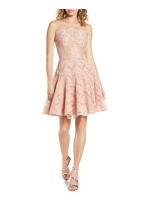 Bronx and Banco anabelle blush party dress