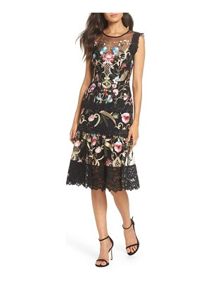 Bronx and Banco bronx & banco agata embroidered fit and flare dress